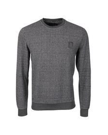 Religion Mens Black Hazard Herringbone Sweatshirt