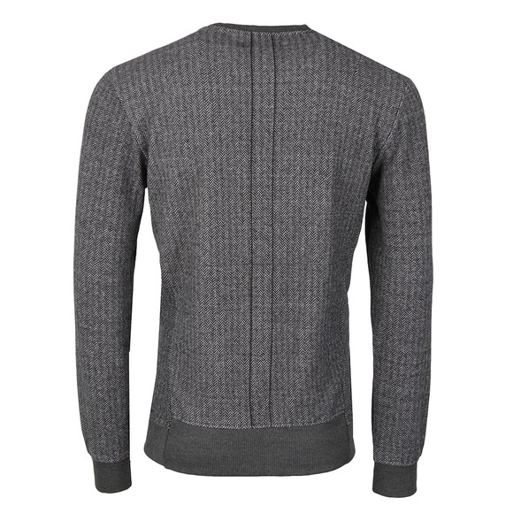 Religion Mens Black Hazard Herringbone Sweatshirt main image