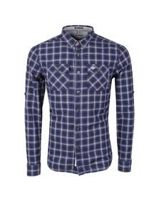 Superdry Mens Blue Grindlesawn LS Shirt