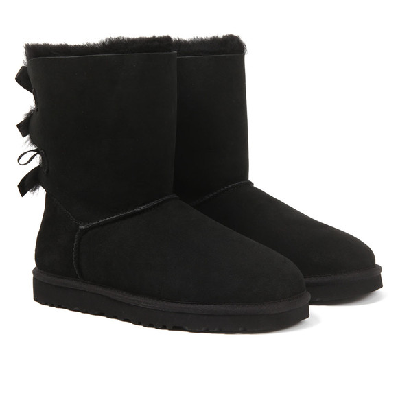 Ugg Womens Black Bailey Bow II Boot main image