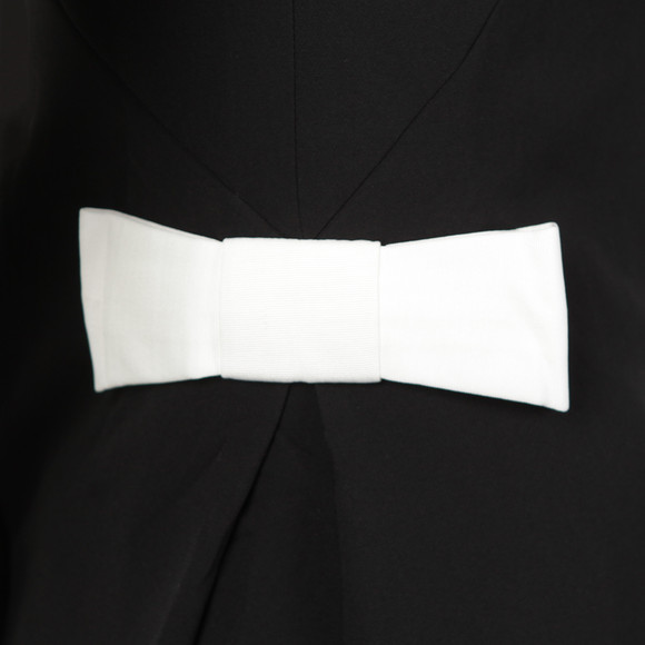 Ted Baker Womens Black Emorly Side Bow Long Sleeve Dress main image