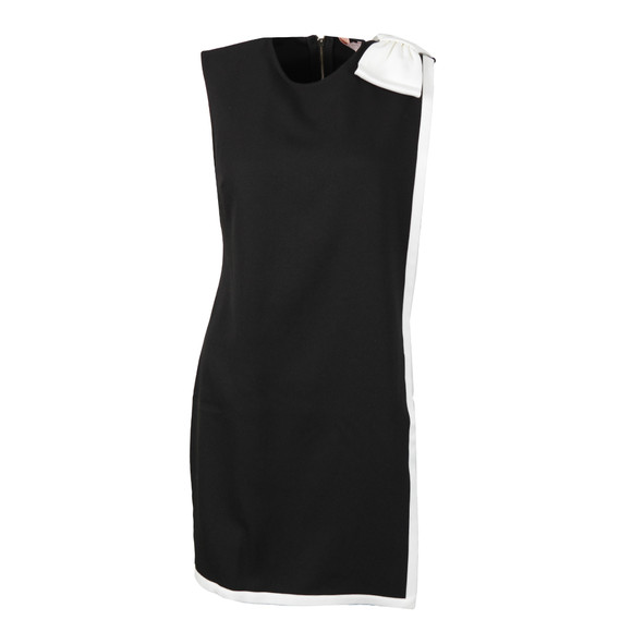 Ted Baker Womens Black Elija Double Layer Dress With Bow main image