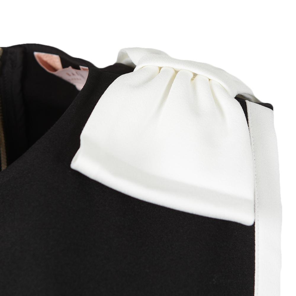 Elija Double Layer Dress With Bow main image