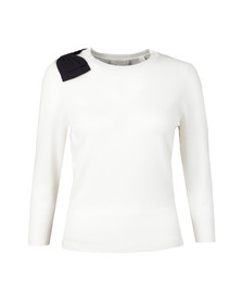 Ted Baker Womens Off-white Callah Bow Detail Jumper