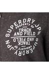 Superdry Womens Brown Track & Field Zip Hoody