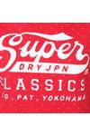 Superdry Womens Red Classics Polka Hoody