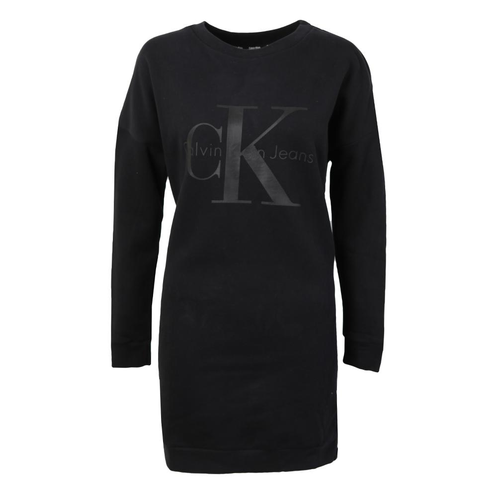 58efcd8913e Calvin Klein Jeans Womens Black Dovali Sweater Dress