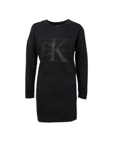 Calvin Klein Womens Black Dovali Sweater Dress