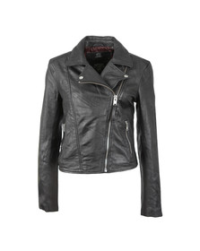 Superdry Womens Black Bella Biker Jacket