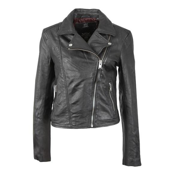 Superdry Womens Black Bella Biker Jacket main image