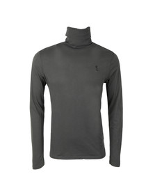 Religion Mens Grey Overdrive Roll Neck L/S T-Shirt