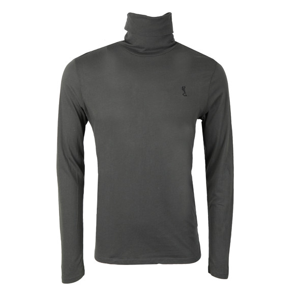 Religion Mens Grey Overdrive Roll Neck L/S T-Shirt main image