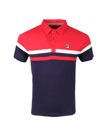 Fila Mens Blue Civetta Polo Shirt