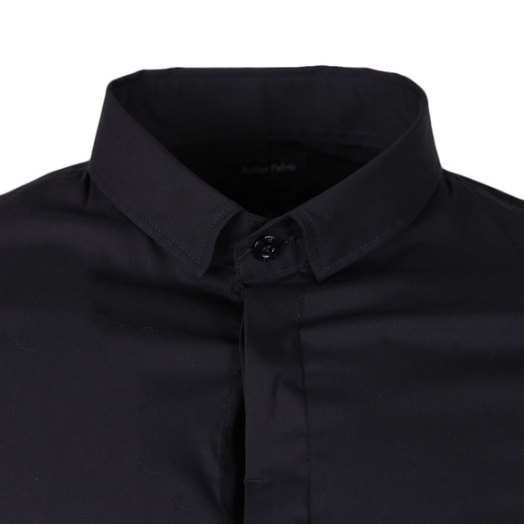 Armani Jeans Mens Blue Plain Shirt main image