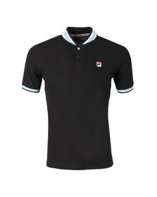Fila Mens Black Skipper Polo Shirt