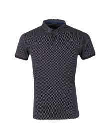 Scotch & Soda Mens Black Chic Jersey Polo Shirt