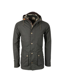 Barbour Heritage Mens Green Hooded Bedale