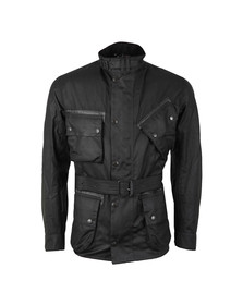 Barbour Steve McQueen Mens Black A7 V2 Wax Jacket