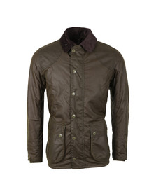 Barbour Lifestyle Mens Green Digby Wax Jacket