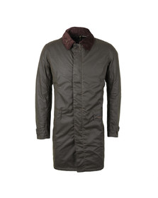 Barbour Lifestyle Mens Green Nairn Wax Jacket