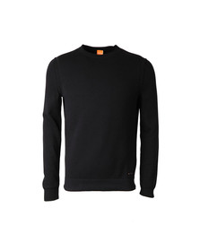 Boss Orange Mens Black Albinon Knitted Jumper