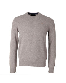 Hackett Mens Brown Crew Neck Jumper