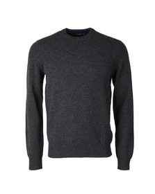 Hackett Mens Grey Crew Neck Jumper