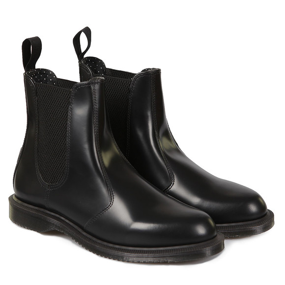 Dr. Martens Womens Black Flora Boot