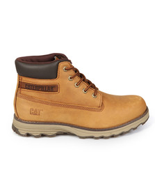 CAT Mens Orange Founder Boot