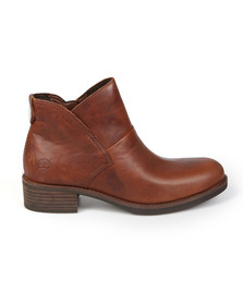 Timberland Womens Brown Beck With Side Zip Boot