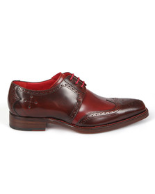 Jeffery West Mens Red Dexter Bay Shoe