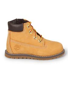 Timberland Boys Beige Pokey Pine 6 Inch Boot