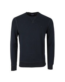 Aquascutum Mens Blue Gilpin Crew Neck Sweater