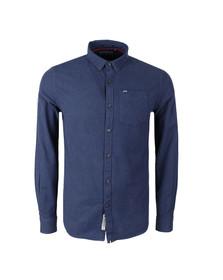 Superdry Mens Blue Academy Oxford Shirt