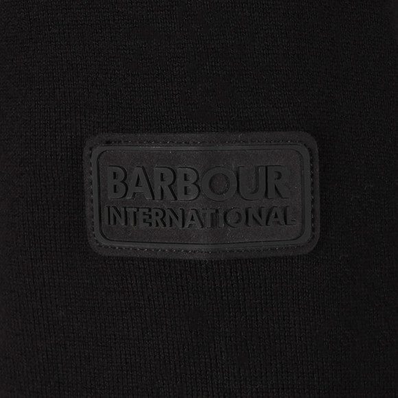 Barbour International Mens Black Baffle Zip Through main image