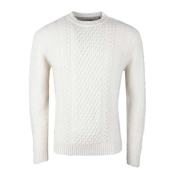 Edwin Mens Off-white United Sweater main image