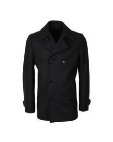 Hugo Mens Blue Badox Wool Jacket