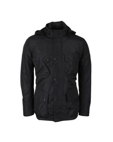 Barbour International Mens Black Capacitor Jacket