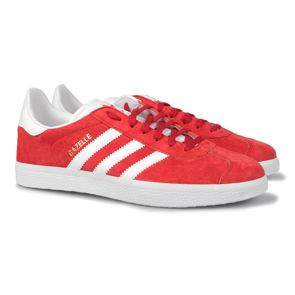 Adidas Originals Mens Red Gazelle Trainer main image