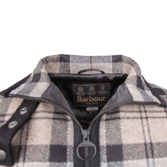 Barbour Lifestyle Womens Grey Brunway Wool Cape main image