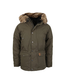 Carhartt Mens Green Trapper Parka