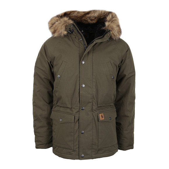 Carhartt Mens Green Trapper Parka main image
