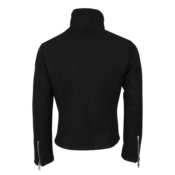 Armani Jeans Mens Black Fleece Jacket main image