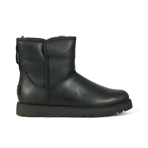 Ugg Womens Black Cory Leather Boot main image