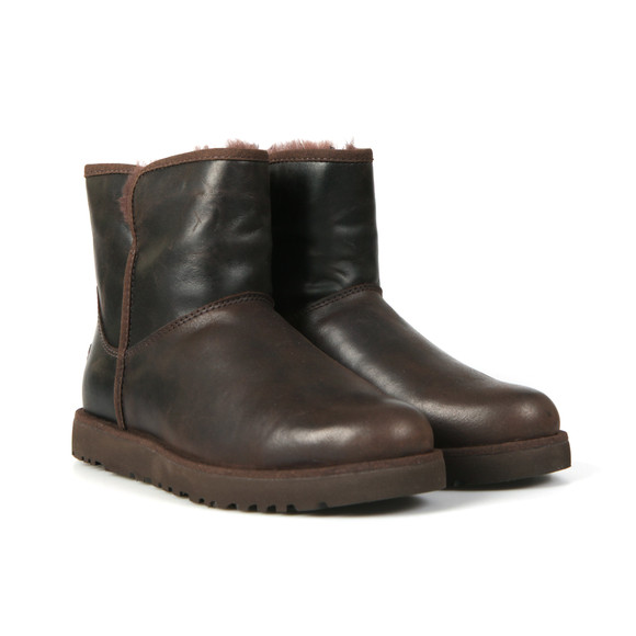 Ugg Womens Brown Cory Leather Boot main image