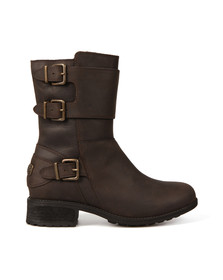 Ugg Womens Brown Wilcox Boot