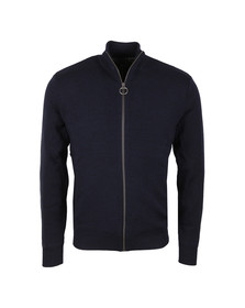 Barbour Lifestyle Mens Blue Ardeley Zip Through