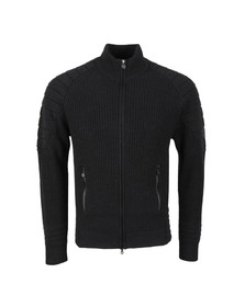 Matchless Mens Black Manx Cardigan