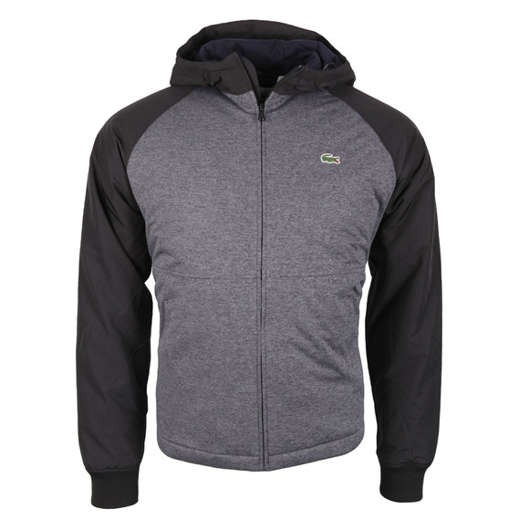 Lacoste Mens Blue BH8939 Hooded Jacket main image