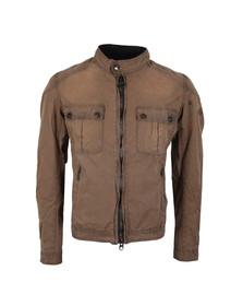 Barbour International Triumph Mens Brown Locking Wax Jacket